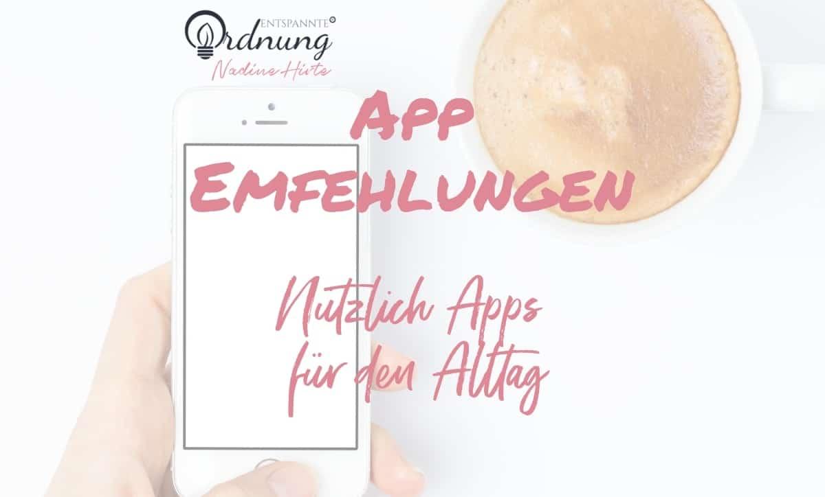 Nützliche Apps für den Alltag